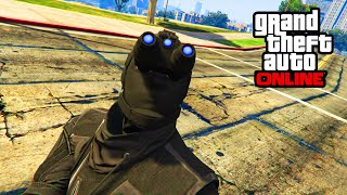 GTA 5 Online - NIGHT VISION IN FREEROAM TUTORIAL! (GTA 5 Heist Secrets)