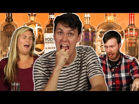 Cheap Vs. Expensive Vodka Taste Test