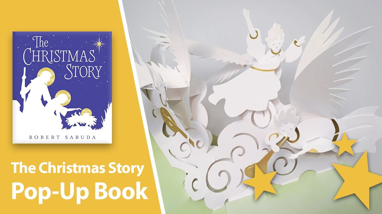 The Christmas Story: A Pop-Up Book by Robert Sabuda - YouTube