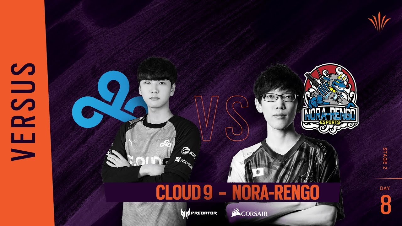 Cloud9 vs Nora-Rengo // Rainbow Six APAC North Division 2020 - Stage 2 - Playday #8