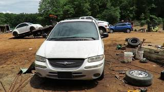 Scrapped 2000 Chrysler Town & Country