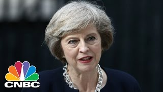 UK PM Theresa May Attends First EU Summit | CNBC