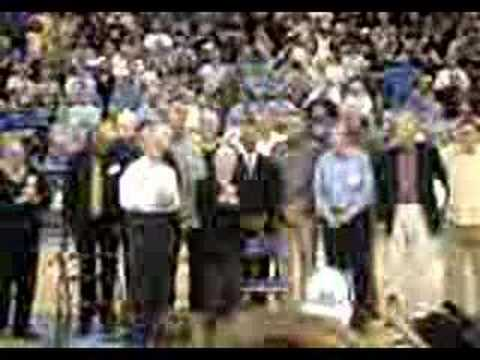 John Wooden Halftime speech - Honoring the 1967 National cha