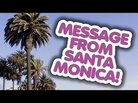 A Quick Message from Santa Monica! (Clean My Space)