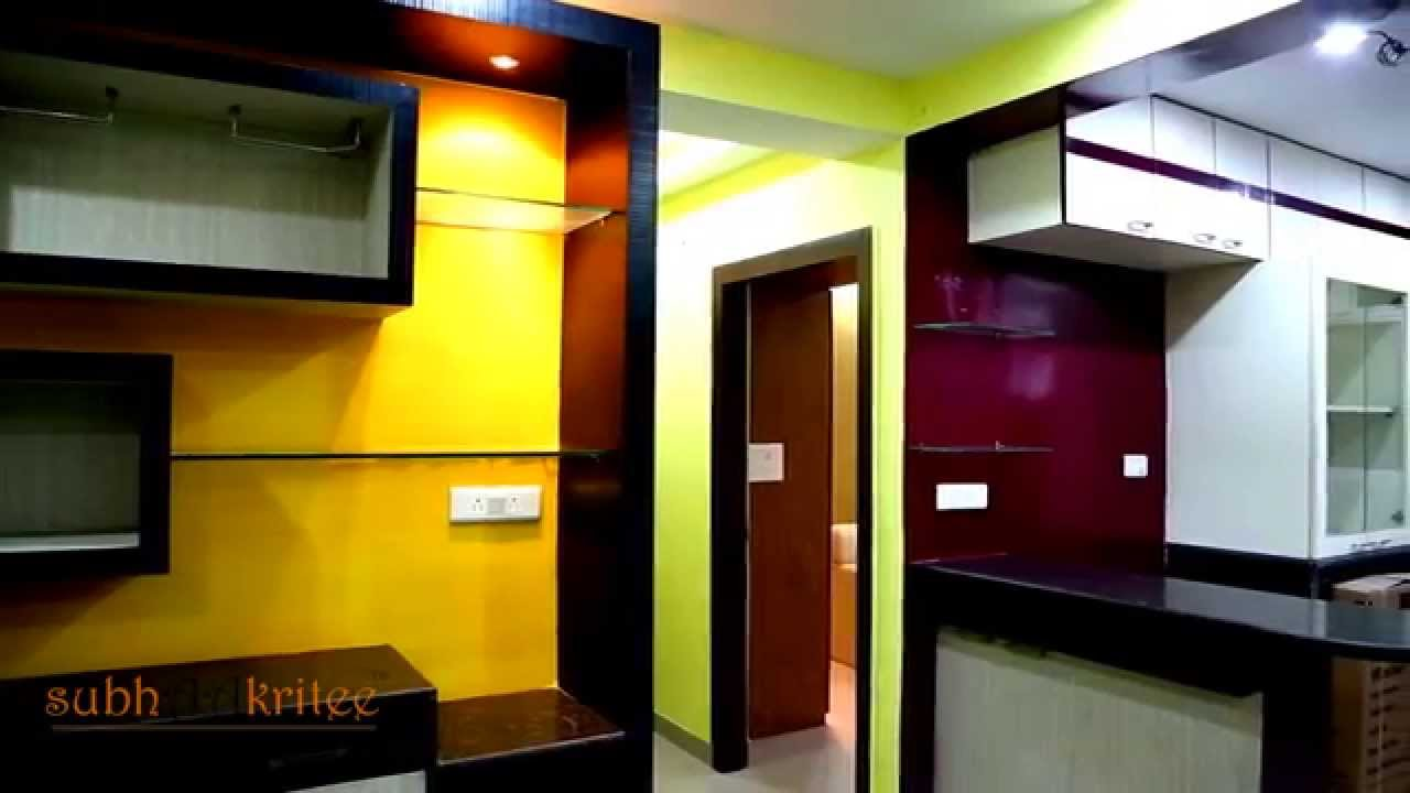 1 Bhk Flat Decoration Idea Of Subhaakritee Now New Trend Interior Design For Your 3bhk