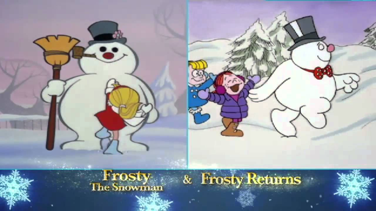 holiday specials frosty the snowman youtube
