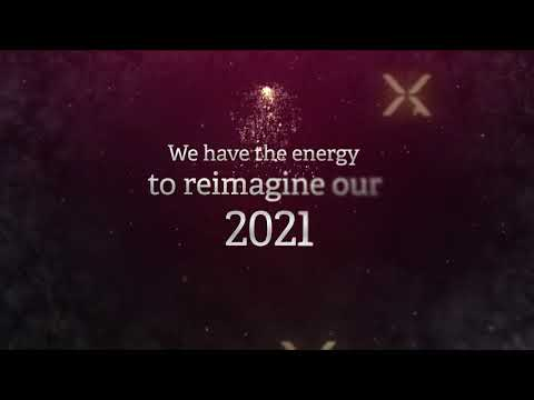 We have the energy to reinvent our 2021. MAXAM Season' s Greetings