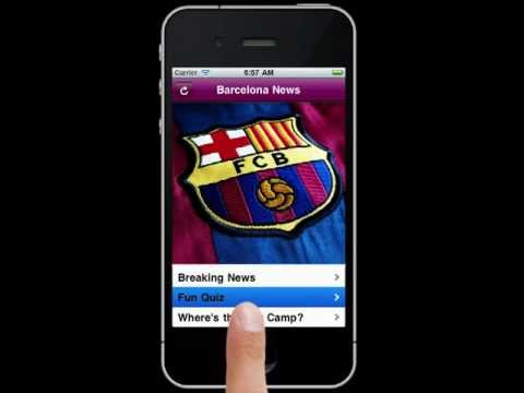 FC Barcelona New App for iPhone & iPad