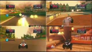 F1 Race Stars Gameplay (PS3 Let