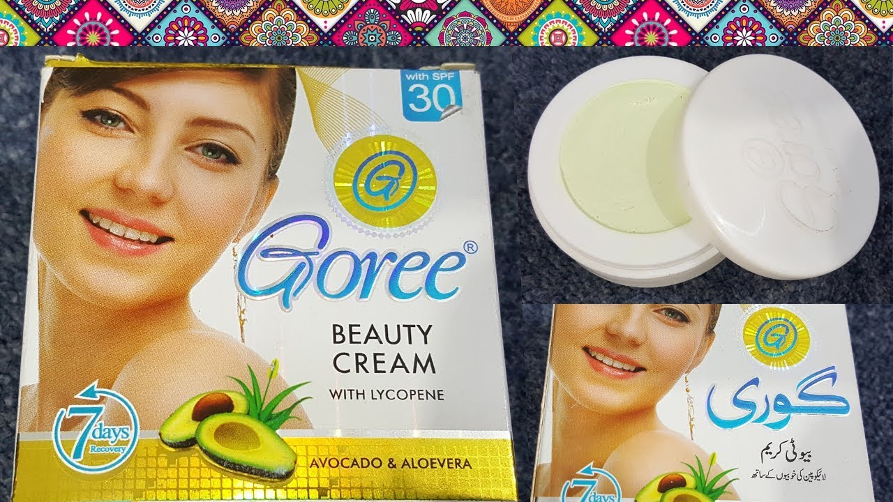 Goree Beauty Cream Review, Benefit, Price, Side Effects | Whitening Cream  for Face Fairness