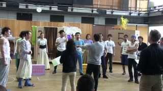 【劇団四季】アラジン稽古風景