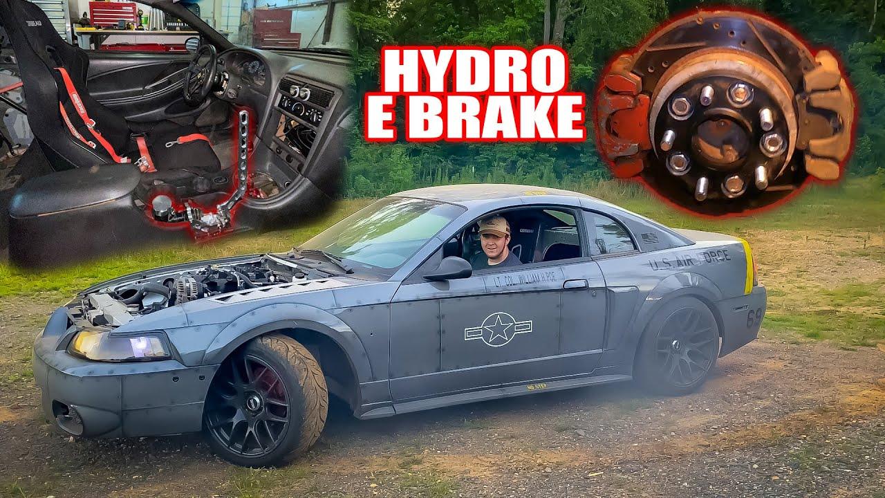 Installing A HYDRO E-BRAKE in the Drift car + Mods!
