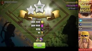 1000 Dragons Vs 1000 Baby Dragons Insane Clash Of Clans Matchup!