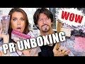 FREE STUFF BEAUTY GURUS GET | Unboxing PR Packages