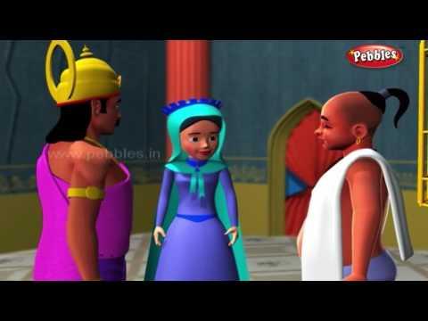Born To Be Free | हिंदी कहानी | 3D Moral Stories of Tenali Raman in Hindi For Kids