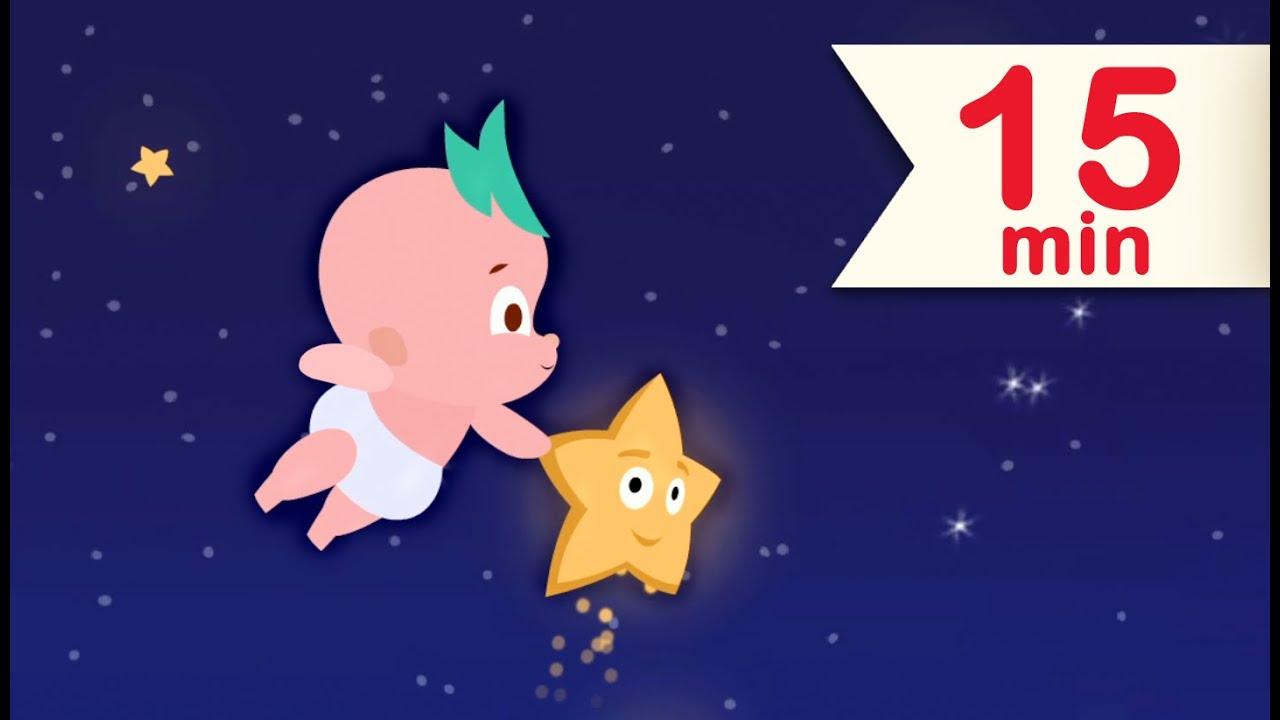 Blinka Lilla Stjärna Där | Barnsånger på Svenska | Vaggvisor För Barn