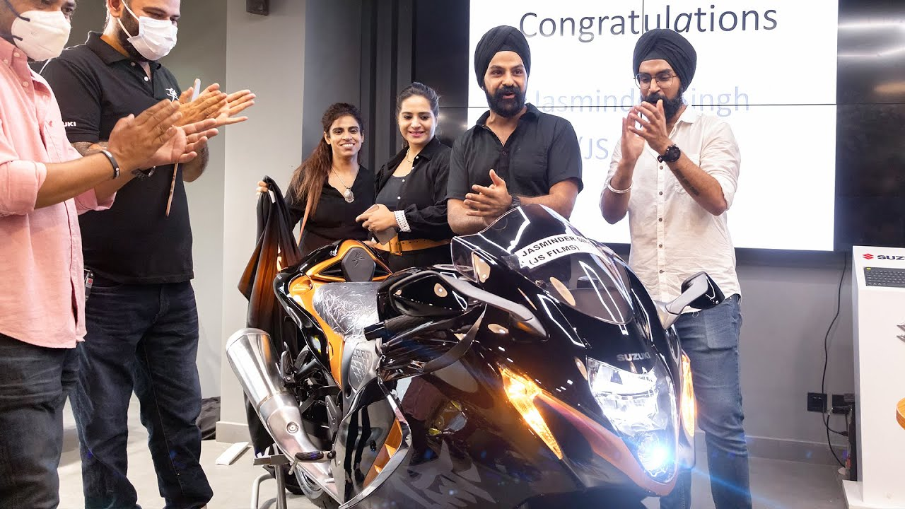 I paid Rs. 35,000 extra for my HAYABUSA 2021 !
