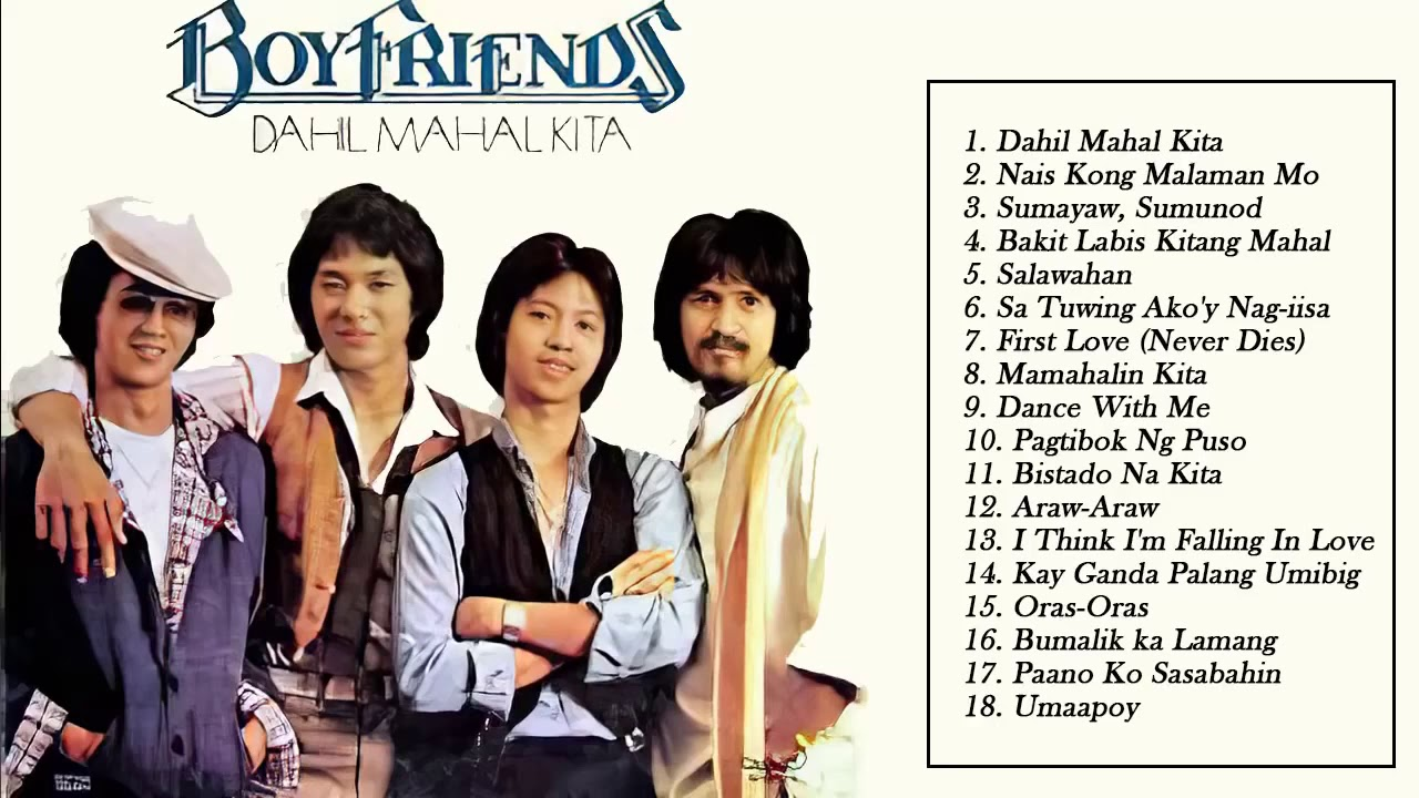 Download The Boyfriends Greatest Hits 2020 - The Boyfriends OPM Collection Non Stop Music