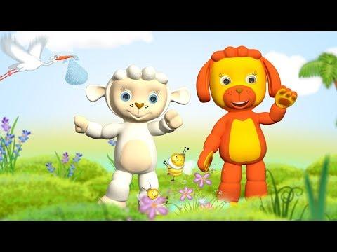 Тини Лав мультик - Сборник про Животных, стихи для малышей