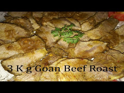 Goan Beef Roast Recipe | How To Make Goan Beef Roast | Goan Recipes | Cooking Addiction Goa.