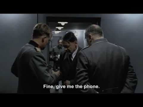 Hitler phones Fegelein