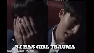 B.I HAS GIRL PHOBIA ??!  | iKON  IDOL SCHOOL TRIP FUNNY & SAVAGE MOMENTS