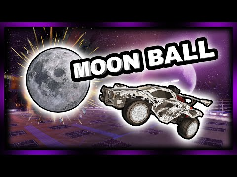 MOON BALL - Rocket League in Space!
