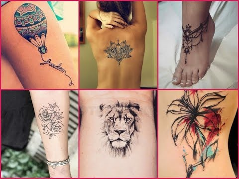 50 Cute Tattoo Designs For Girls – Inspirational Tattoo Ideas For Women