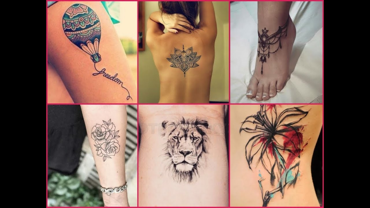 50 Cute Tattoo Designs For Girls Inspirational Tattoo Ideas For
