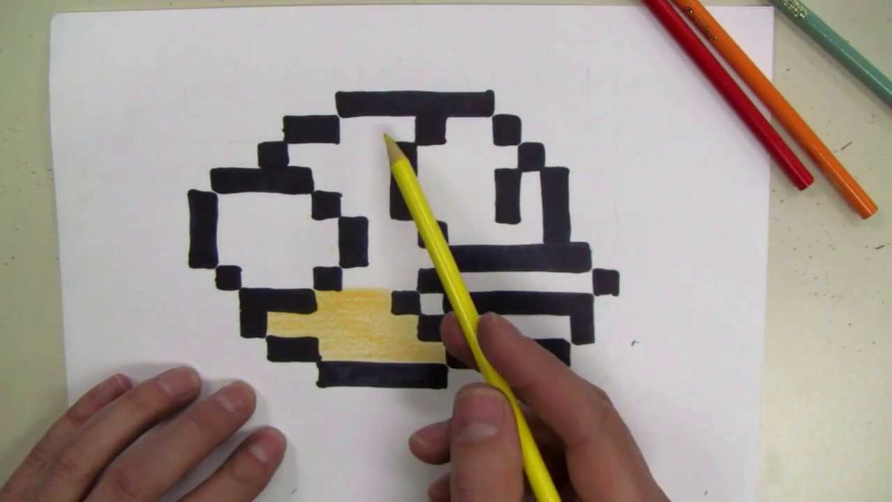 how to draw flappy bird 8 bit make your own graph paper youtube