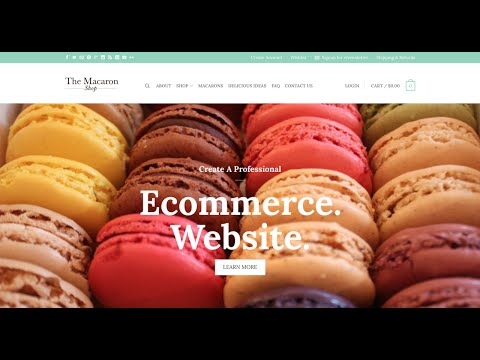 How to Create an eCommerce Website with WordPress (online store!) - 2018 - 동영상