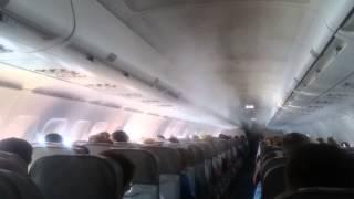 Видео из самолета Когалымавиа разбившегося в Египте 31.10.2015