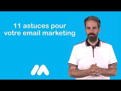 11 astuces pour votre email marketing - Tuto e-commerce - Market Academy par Guillaume Sanchez thumbnail