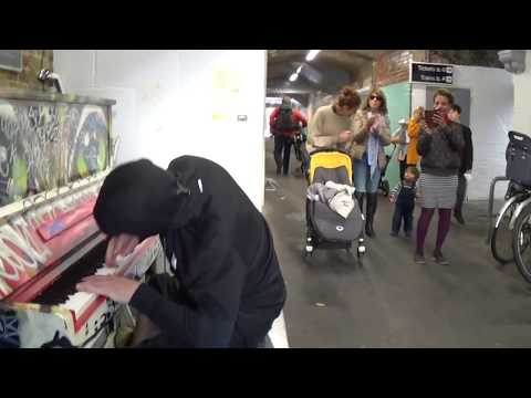 Banksy Of Street Pianos Shreds In Public