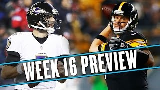 NFL Week 16 preview: Can the Ravens beat the Steelers for the 7th time in 8 games? | Uffsides