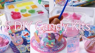 5 Japanese Interesting DIY Candy Kits