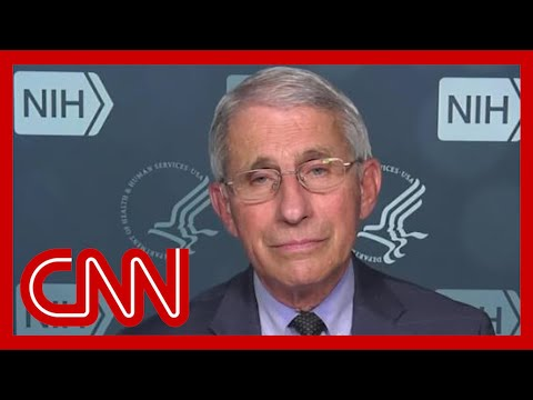 Dr. Fauci gives