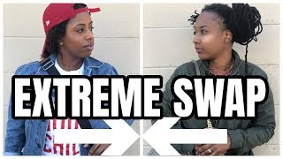 Extreme Clothes Swap [IN PUBLIC]