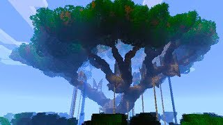 Building the BEST TREE HOUSE in MINECRAFT