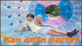 Слайд-шоу из детских фотографий, сделанных за 7 лет.