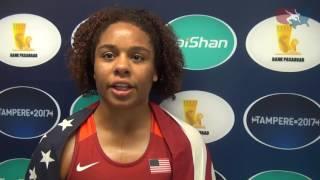 Maya Nelson wins gold at 2017 Junior World Championships