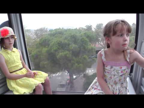A stressful time on the Montjuic cable cars in Barcelona