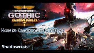 Comment créer personnalisé de la flotte de Battlefleet Gothic Armada II - Bêta Ouverte