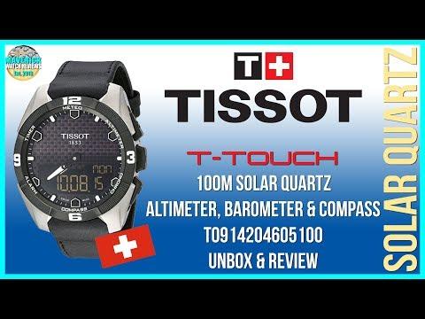 Neat! |Tissot T-Touch 100m Solar Quartz T0914204605100 Unbox & Review | Maverick's First Full Review