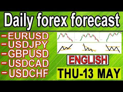 ( 13 MAY) daily forex forecast | EURUSD | USDJPY | GPBUSD | USDCAD | USDCHF | forex | English |