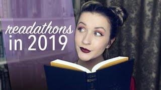 READATHONS IN 2019 ☾✧
