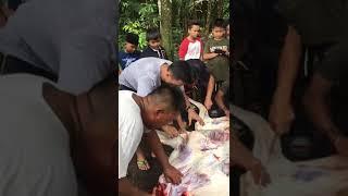 Raya korban 2018...sep sep tukang belako