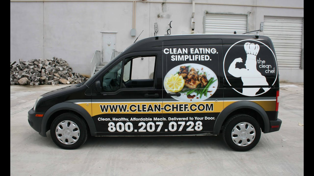 Prepared Meal Food Delivery Ford Transit Connect Van Commercial