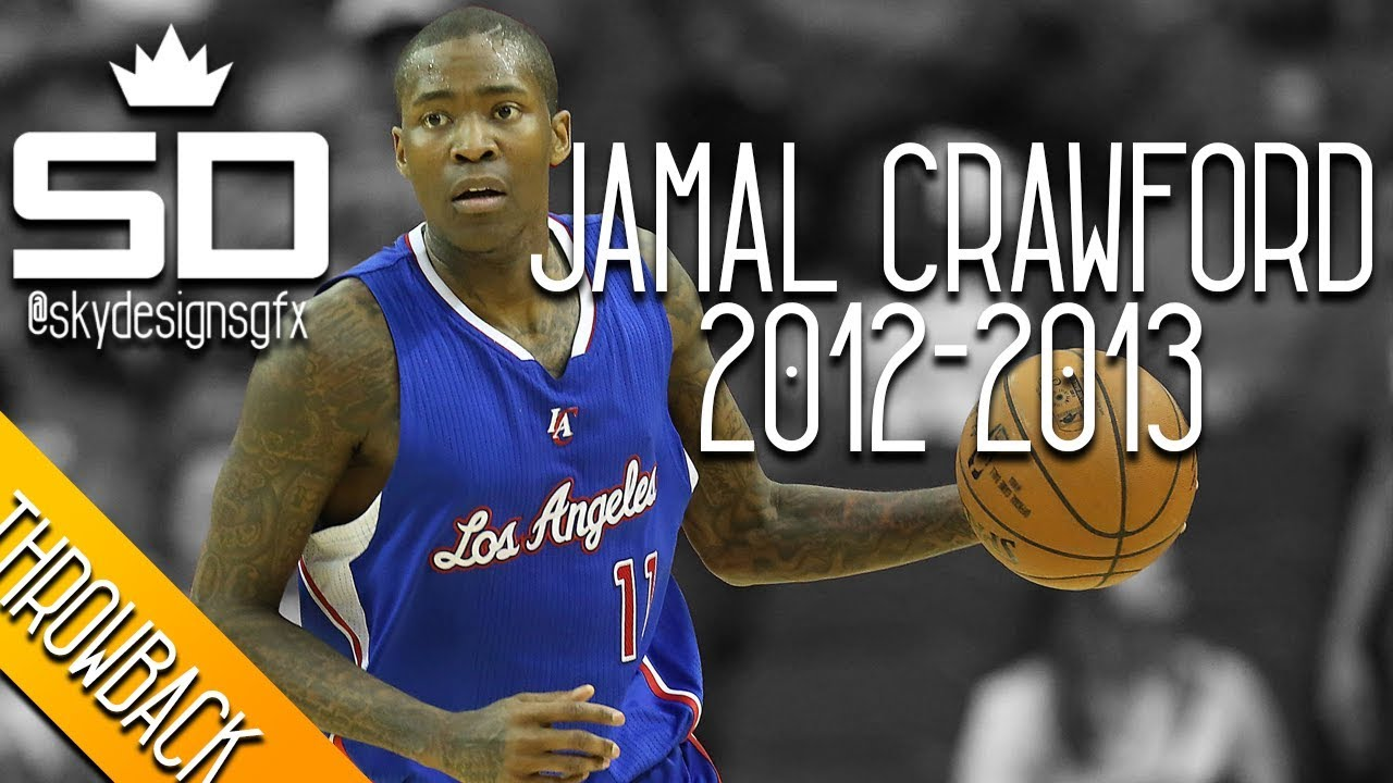95e88814d Jamal Crawford THROWBACK 2012-2013 Season Highlights    16.5 PPG ...