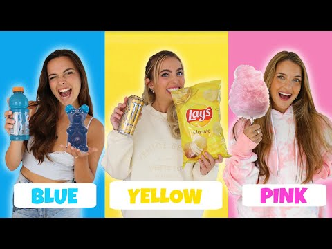 EATING ONLY ONE COLORED FOOD FOR 24 HOURS! - Lexi Hensler